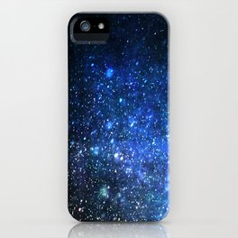 Twinkling blizzard iPhone Case