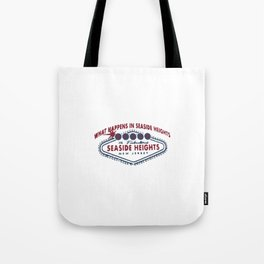 Seaside Heights - New Jersey. Tote Bag