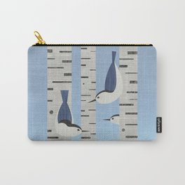 Nuthatches Carry-All Pouch