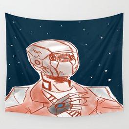 Beyond space mercenary Wall Tapestry
