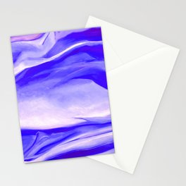 Light Purple Abstract Painting  Stationery Cards