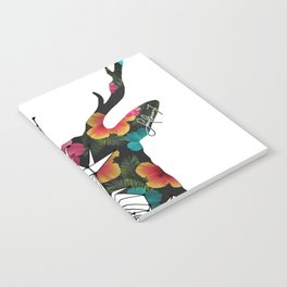 STAG FLORAL Notebook