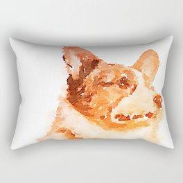 Corgi 1 Rectangular Pillow