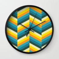 cassette Wall Clocks featuring cassette by zeerowski