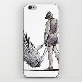 """""""THE CHAIN BREAKER"""" iPhone Skin"""