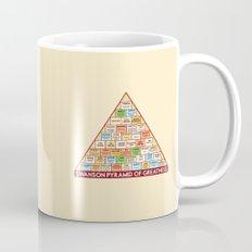 ron swanson's pyramid of greatness Mug