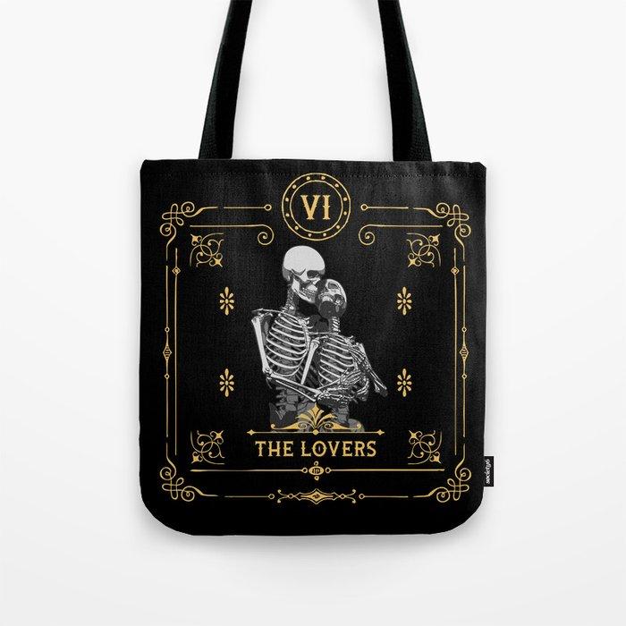 The Lovers VI Tarot Card Tote Bag