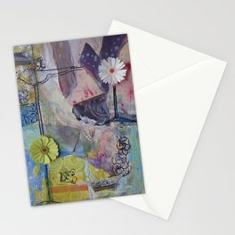 Flower Montage Stationery Cards