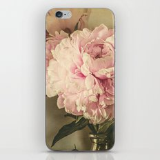 Painted Peonies -- Botanical Still Life iPhone & iPod Skin