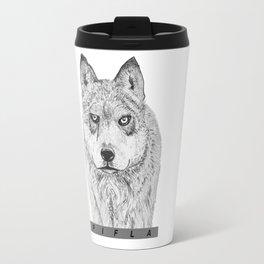 Wolfy Travel Mug