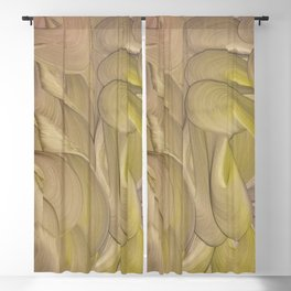 Ace of Pentacles Blackout Curtain