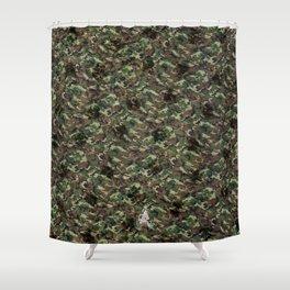 ARTiSTiC camo Shower Curtain