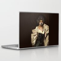 karu kara Laptop & iPad Skins featuring Ruffs and Collars - Kara by LiseRichardson