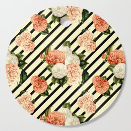 Chrysanthemum Rain Cutting Board