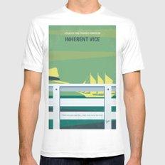 No793 My Inherent Vice minimal movie poster Mens Fitted Tee White MEDIUM
