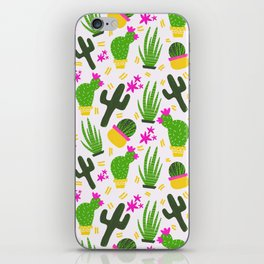 Cactus Pattern of Succulents iPhone Skin