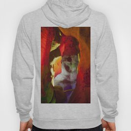 Abstract of color in a Cave Hoody