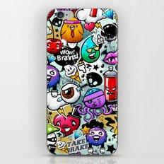 graffiti fun iPhone & iPod Skin