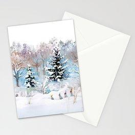 Tiny Elves Stationery Cards