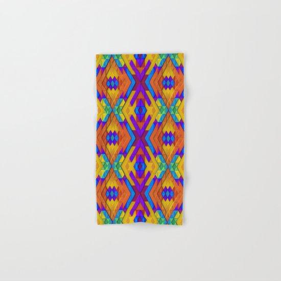 Colorful Geometry Hand & Bath Towel