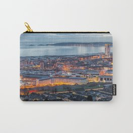 Dusk at Swansea city Carry-All Pouch