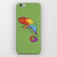 Confused chameleon iPhone & iPod Skin