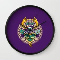 Urban Samurai Wall Clock