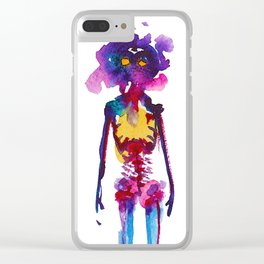 Kids on Fire Clear iPhone Case