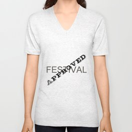 Festival Approved Unisex V-Neck