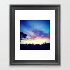 Picture He Sent Me Framed Art Print