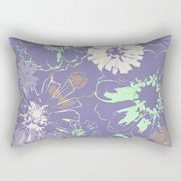 Late Summer Lavender Rectangular Pillow