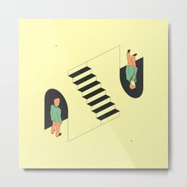 Doppelgänger Metal Print