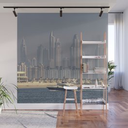 Dubai Yacht And Architecture Wall Mural