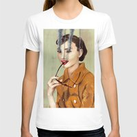 hepburn T-shirts featuring Audrey Hepburn by FAMOUS WHEN DEAD