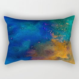 Watercolor Page Inverted Rectangular Pillow