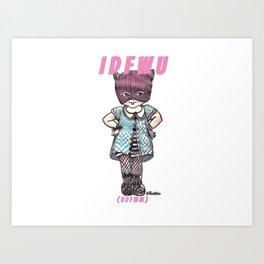 I D F W U Art Print