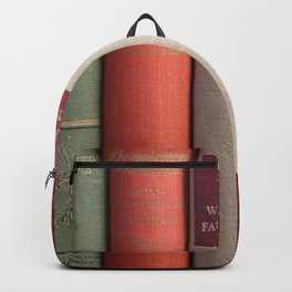 Old Books - Square Backpack