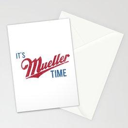 IT'S MUELLER TIME Investigate Impeach Anti-Trump Stationery Cards