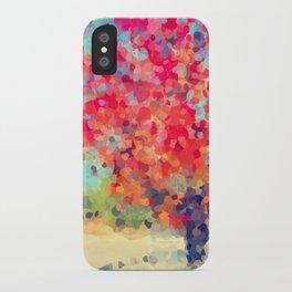 Orange Tree Watercolor  iPhone Case
