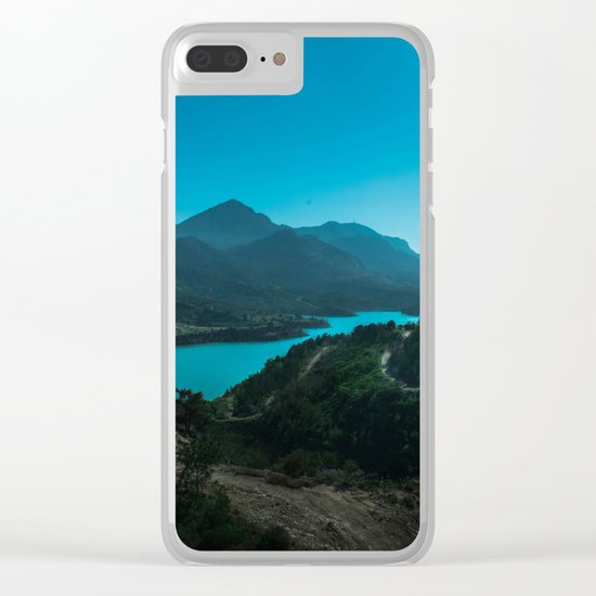 ISLAND STORIES XIII Clear iPhone Case