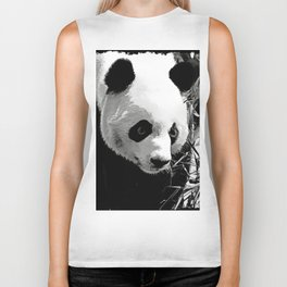 Panda Bear Biker Tank