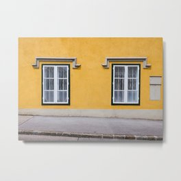 Baden Yellow Metal Print