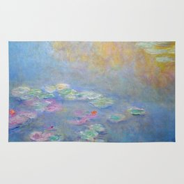Monet water lilies 1908 Rug