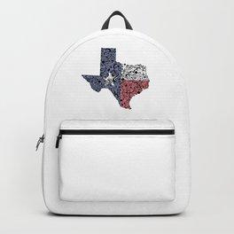 Texas - Hand Sketched Doodle Art Backpack