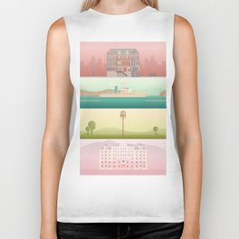 A Wes Anderson Collection Biker Tank