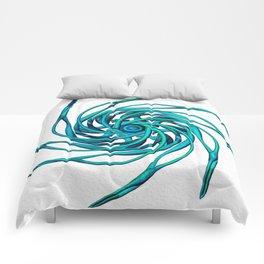 Star_B_blue Comforters