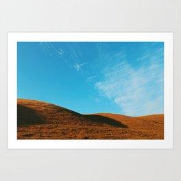 Hills & Sky Art Print