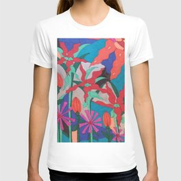 Bold Garden Night Party T-shirt
