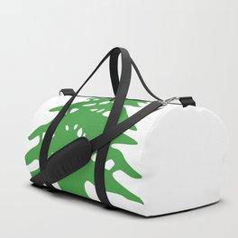 Lebanon flag emblem Duffle Bag