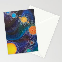Spacial Relations Stationery Cards